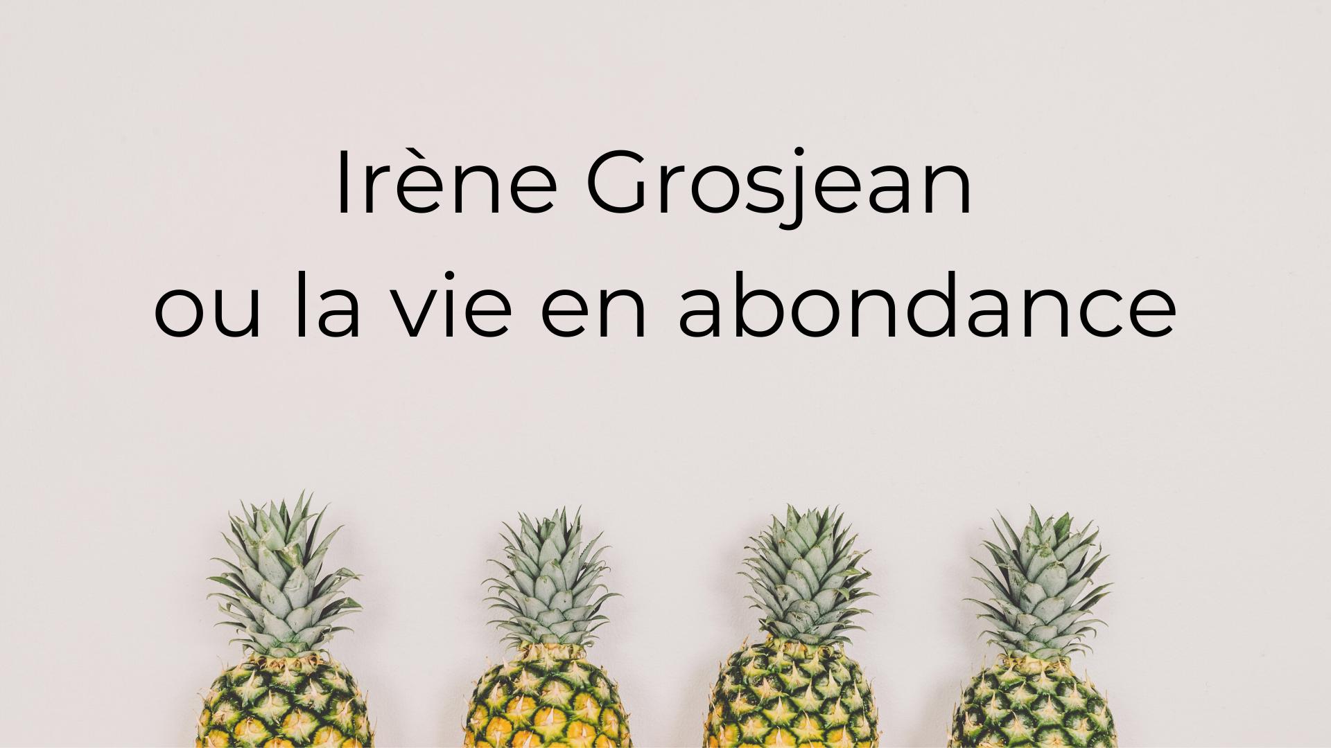 Video_Irene Grosjean